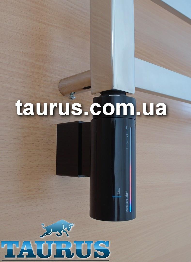 Сенсорный ТЭН InstalProjekt HOT2 N0 (MS) Black: регулировка, таймер, LED-подсветка, маскировка провода