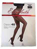 Женские колготки Elizabeth Prestige classic 40 den черные