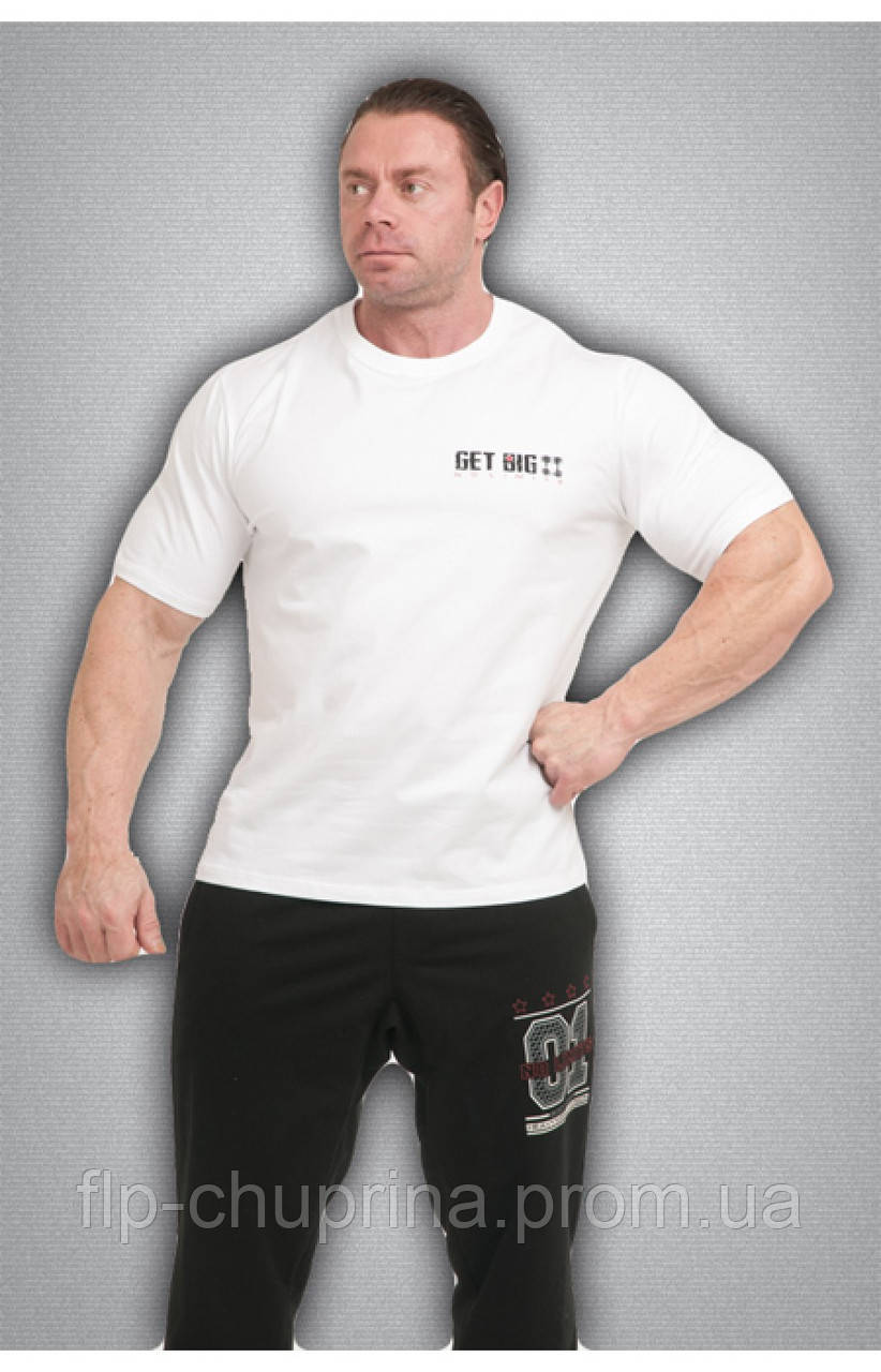 Чоловіча футболка біла