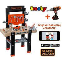 Мастерская с инструментами Smoby Black&Decker