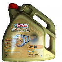 """Масло """"CASTROL""""  Edge 5w40 TITANIUM 4л"""