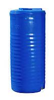Емкость 100 литров узкая вертикальная однослойная