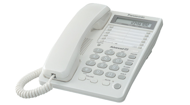 Проводной телефон Panasonic KX-TS2362RUW, бу