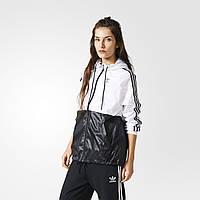 Ветровка женская с капюшоном adidas Originals BR7860 - 2017