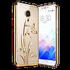 Чехол-накладка Beckberg Breathe seria for Samsung J120 (J1-2016) Orchid