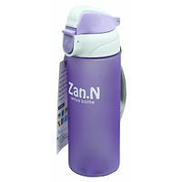 Бутылка спортивная для воды с поилкой Zan.N 500 мл.