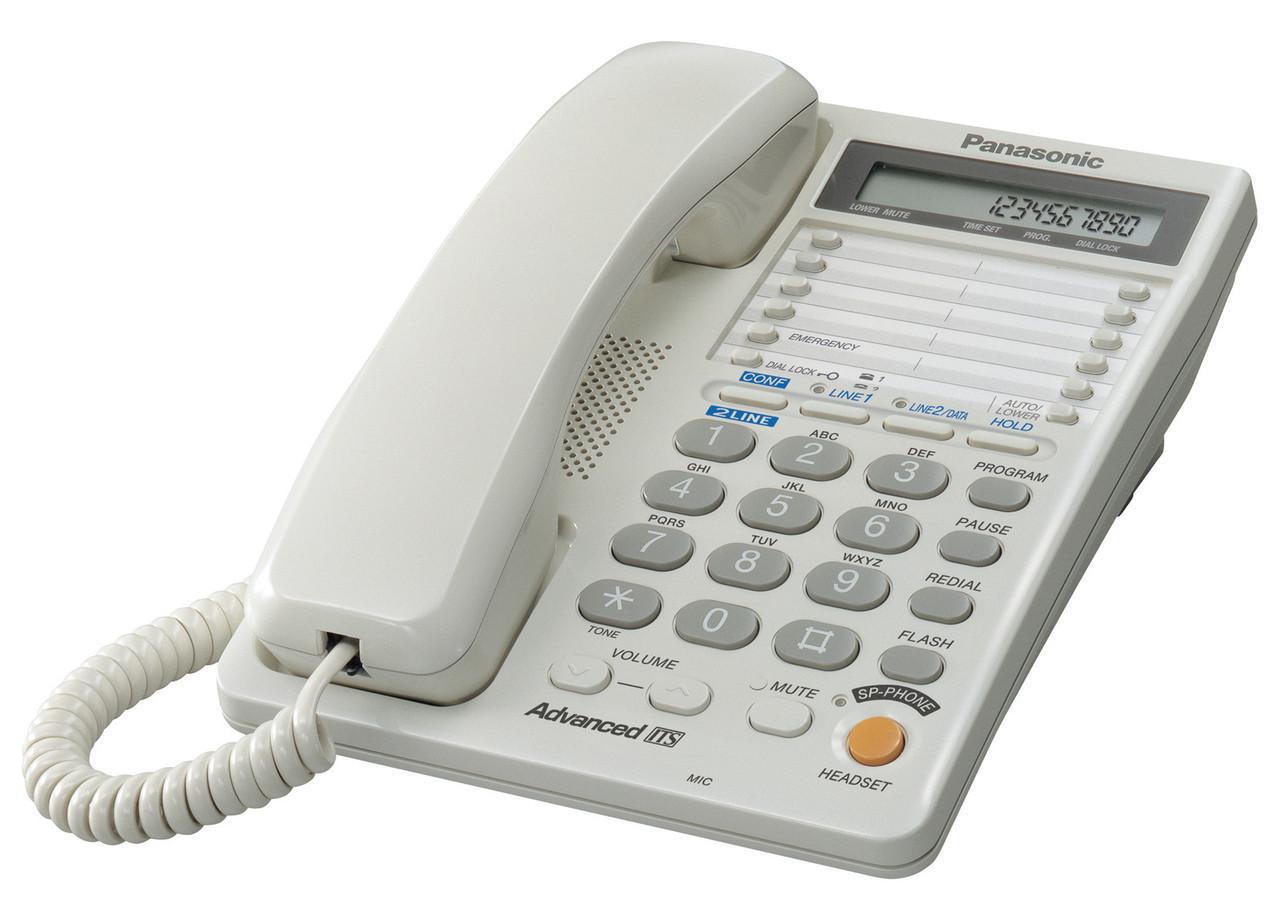 Проводной телефон Panasonic KX-TS2368RUW, бу - Интернет магазин компьютерных комплектующих и лицензионного ПО CompSoft в Киевской области