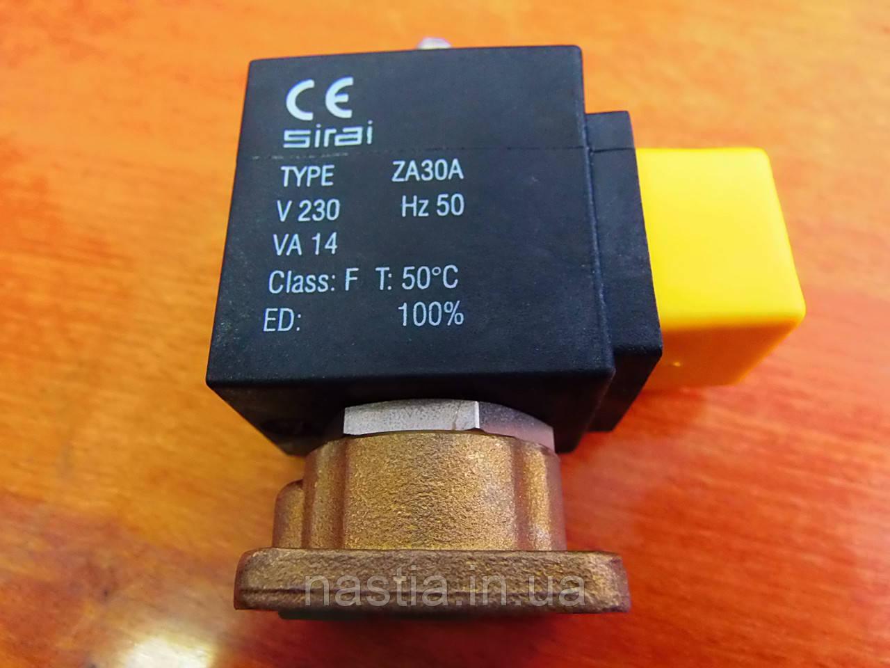 """SM194 Електроклапан, 230V, 50-60Hz, 14VA, T50""""С, на 3 входи, San Marco"""