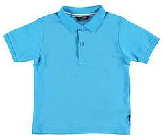 Футболка для мальчика LC Waikiki голубого цвета 100% хлопок