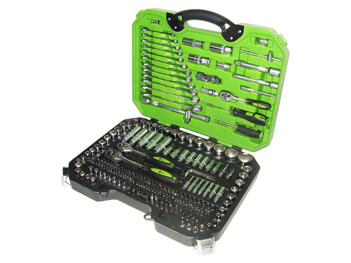 Набор ключей и инструментов 218 пр. НГ-4218П Alloid