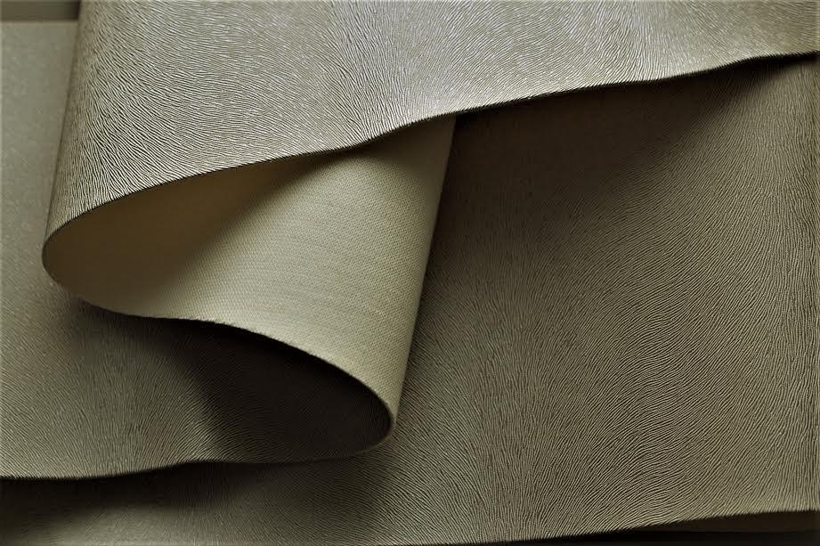 Качественная эко кожа из Германии для обновления мебели серебро