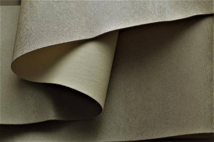 Качественная эко кожа из Германии для обновления мебели серебро, фото 2