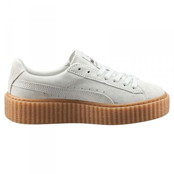 Женские кроссовки Puma Creepers Rihanna White/Oatmeal