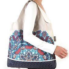 Дизайнерская сумка тоут Envirosax женская RS.B2 модные эко сумки женские, фото 3