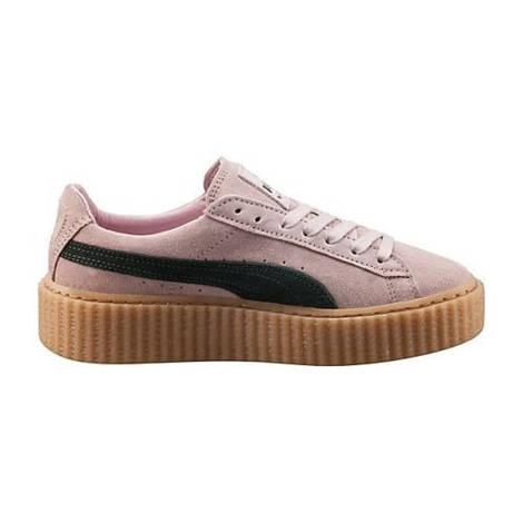 Женские кроссовки Puma Creepers Rihanna Pink/Oatmeal