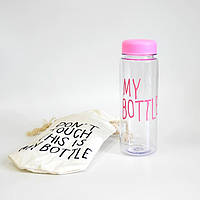 Бутылочка для воды My bottle розовый