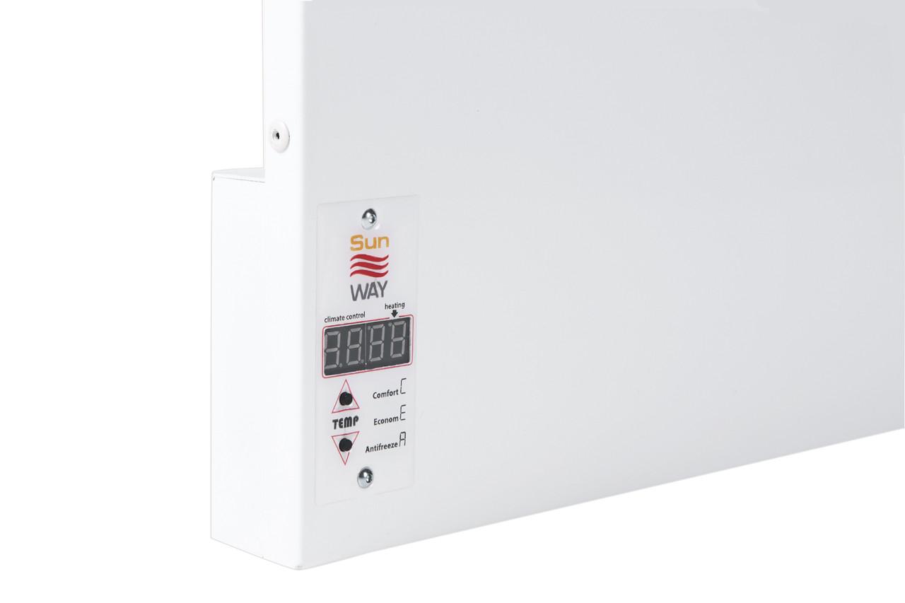 Металевий обігрівач інфрачервоний SWRE-1000 білий