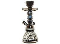 Кальян курительный на 1 трубку 25,5 см MK-50-1-6 (черный)