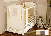 Детская кроватка маятник со стразами Prestige 6