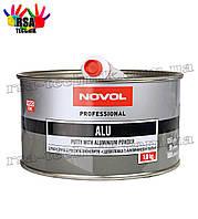 Шпатлевка с алюминиевой пылью NOVOL ALU Professional 1,8 кг
