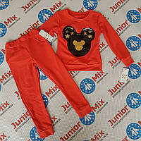 Трикотажный стильный костюм на надевочку Fashion, фото 1
