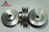 Шкив клино-ременной передачи со ступицей 120 мм, профиль А