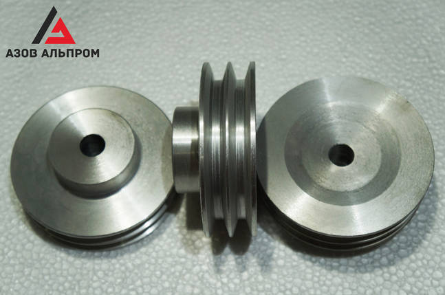Шкив клино-ременной передачи со ступицей 120 мм, профиль А, фото 2