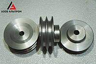 Шкив клино-ременной передачи со ступицей 120 мм, профиль 0