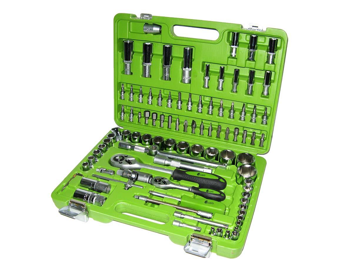 Набор ключей и инструментов 94 пр. НГ-4094П-12 Alloid 12-гранный