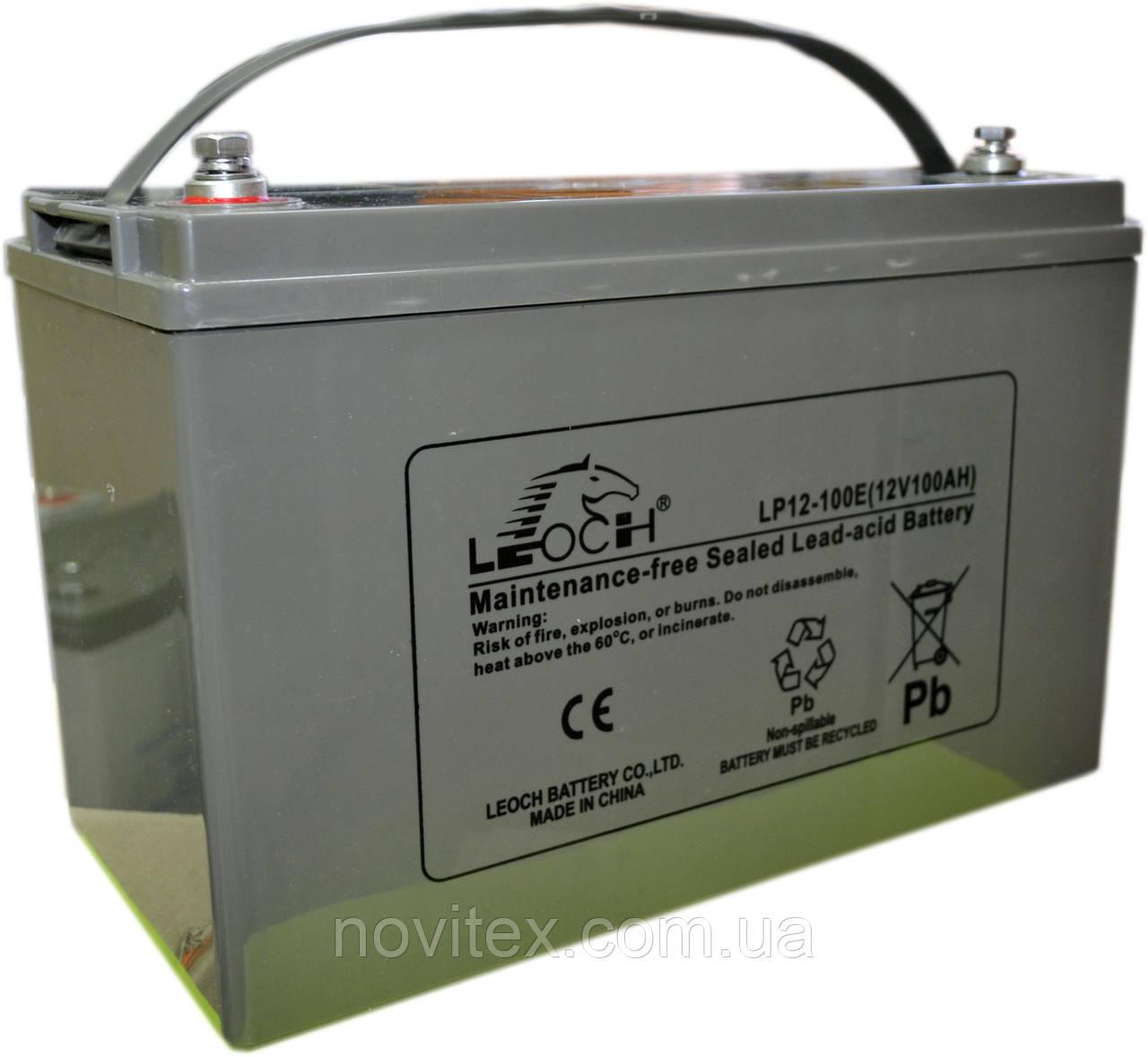 Аккумулятор мультигелевый  Leoch LX12-100E 12В 100Ah