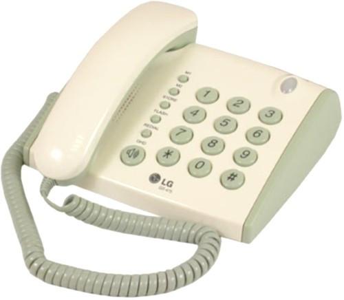 Стационарный телефон LG GS-475, бу
