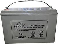 Аккумулятор Leoch LX12-100E 12В 100Ah, мультигелевый (AGM) для ИБП
