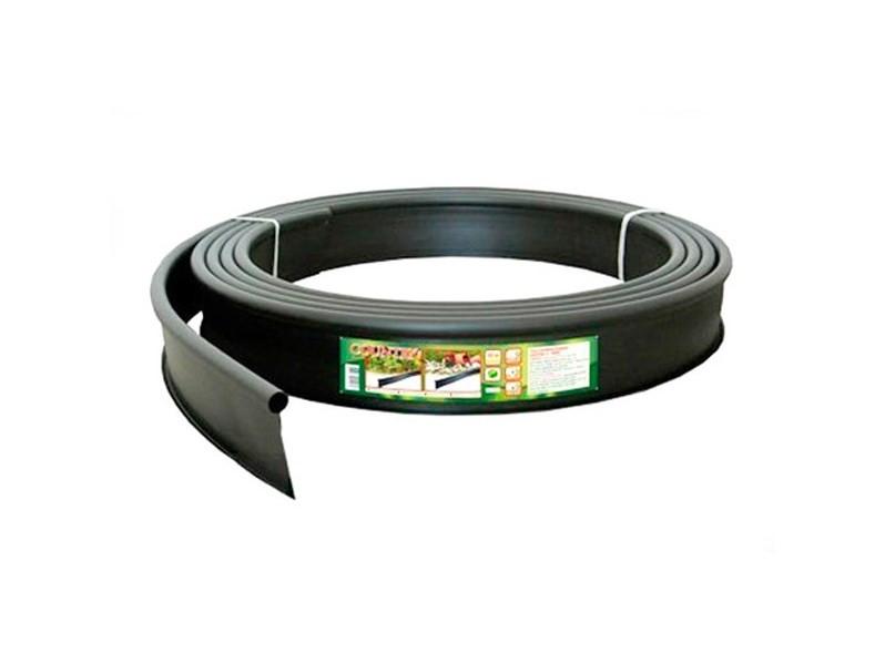 Бордюр садовый пластиковый черный Кантри Б-1000.2.11-ПП