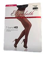 Женские колготки Elizabeth Prestige t-band 40 den черные