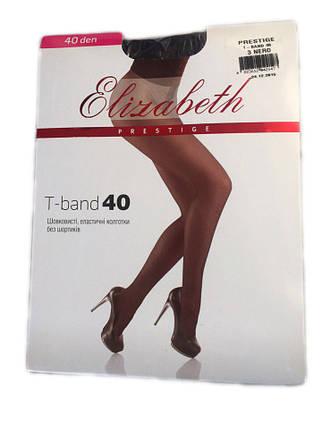 Женские колготки Elizabeth Prestige t-band 40 den черные, фото 2