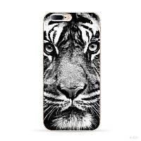 Оригинальный чехол для Iphone 7plus с рисунком лицо тигра