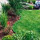 Бордюр садовый пластиковый зеленый Кантри Б-1000.2.11-ПП , фото 5