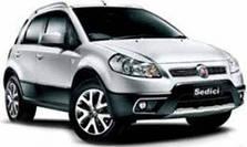 Фаркопы на Fiat Sedici (c 2006--)