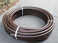 Бордюр садовый пластиковый коричневый Кантри Б-1000.2.11-ПП