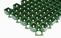 Решетка газонная пластиковая зеленая  РГ-60.40.3,8-ПП
