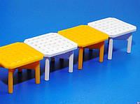 Маркер газонной решетки для парковки пластиковый белый МГР-60.40.3,8-ПП