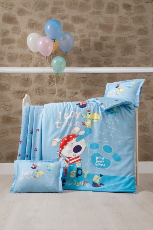 Комплект детского постельного белья Island, Luoca Patisca