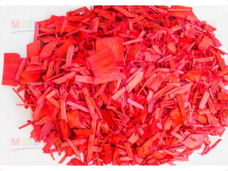 Мульча древесная декоративная Red - ➤Первый ландшафтный магазин ➤Товары для благоустройства участка ➤Товары для ландшафтного дизайна в Мелитополе