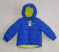 Куртка детская для мальчиков синяя Urban Rascals