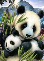 """Набор алмазной вышивки (мозаики) """"Милые панды"""". Художник Howard Robins"""