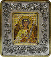 Набор с рамкой для вышивания бисером икона Ангел Хранитель INS 702204