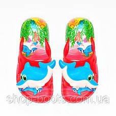 Детские шлепанцы с игрушкой оптом Gipanis  25-32рр. Модель Дельфин, фото 2