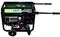 Генератор бензиновый IRON ANGEL  EG3200 E-2  (2,8 кВт, электростарт) Бесплатная доставка