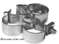Хомут винтовой W1 MINI 8-10мм/9мм