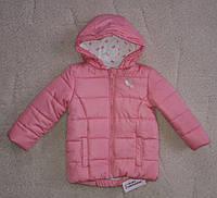 Куртка для девочек розовая бантик Primark